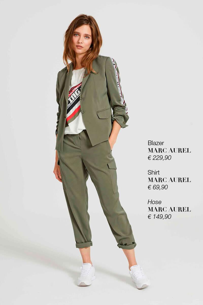Blazer, Shirt + Hose MARC AUREL