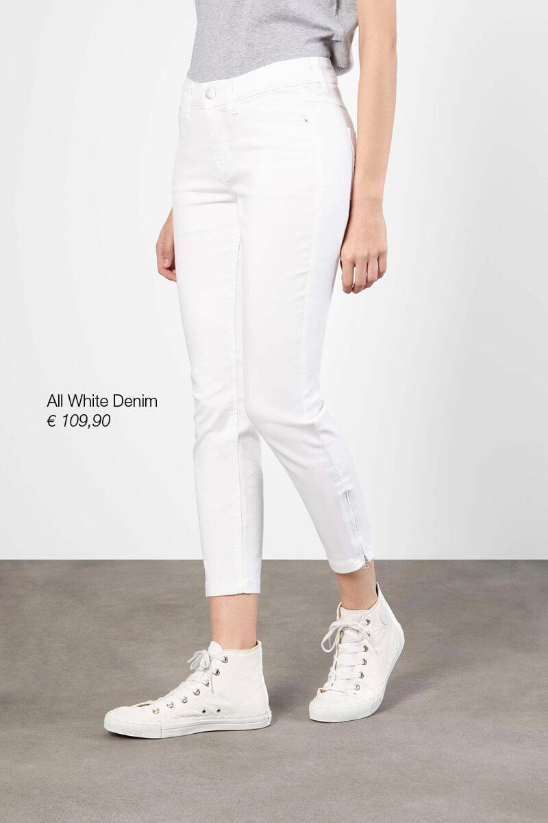 All White Denim